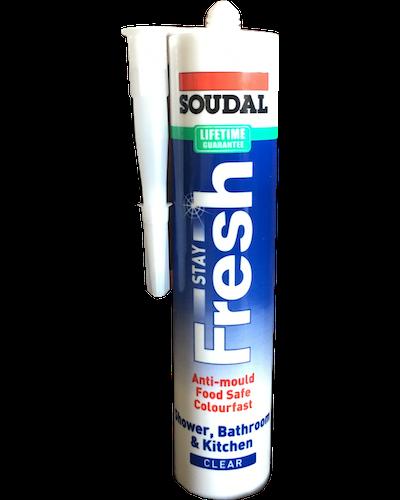 Soudal Silicone Stay Fresh 300ml Clear