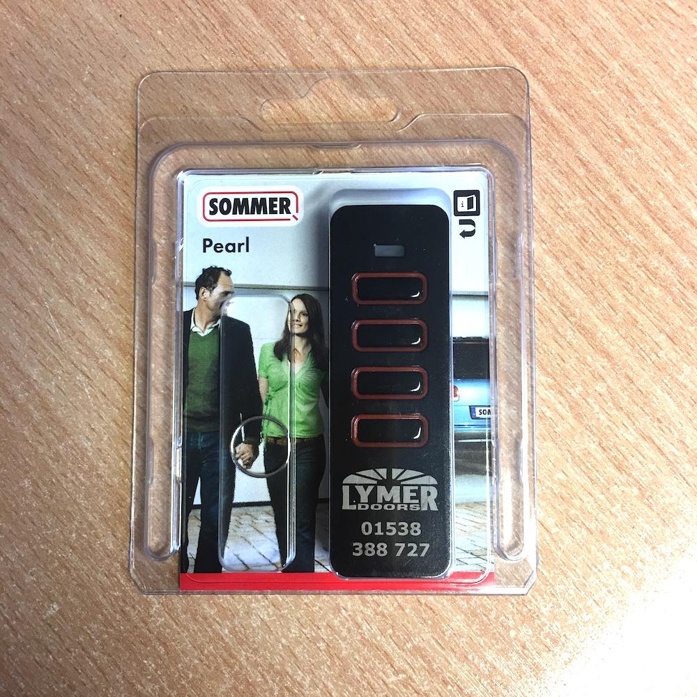 Sommer Pearl Remote Transmitter For Garage Door Tx55 868 4